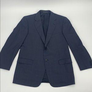 ✅EUC Ermenegildo Zegna Crosshatch Wool Blazer (50)